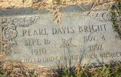 "Susan Pearl ""Pearl"" <I>Gibson</I> Davis Bright"