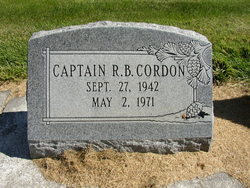 Captain R. B. Cordon