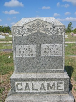 Anna Mariah <I>Watson</I> Calame