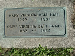 Mary Virginia <I>Bell</I> Hall