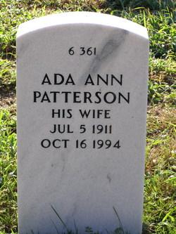 Ada Ann Patterson