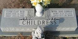 Myra Jane <I>Gorman</I> Childress