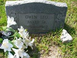 Owen Leo Baker, Sr