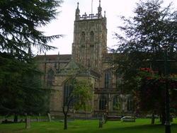 Great Malvern Priory Churchyard