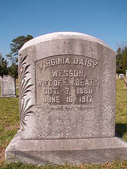 Virginia Daisy <I>Wesson</I> Beaty