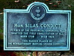 Judge Silas Condict