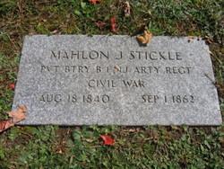 Mahlon J. Stickle