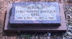 Cyrus Hubbert <I>Wheelock</I> Earl