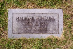 Maury Blackwell Fontaine