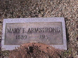 Mary Evelyn <I>Ragland</I> Armstrong