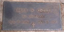 Terry D Adams
