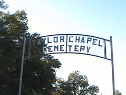 Taylor Chapel Cemetery