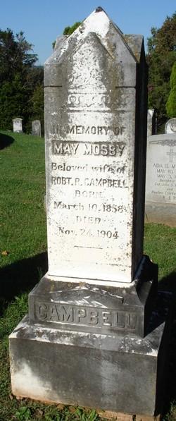 May Virginia <I>Mosby</I> Campbell