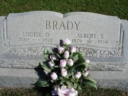 Louise <I>Osterman</I> Brady
