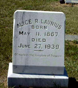 Alice R. <I>Cabler</I> Launius