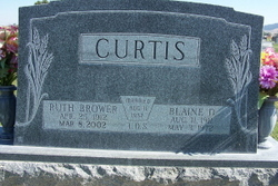 Edna Ruth <I>Brower</I> Curtis