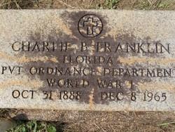 "Pvt Charles Brunson ""Charlie"" Franklin"