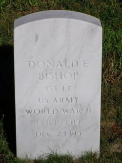 Donald Edwin Bishop