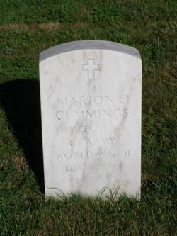 Marion E Cummings