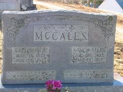 Calloway A McCall