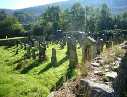 Nový Židovský Hřbitov Rožmberk nad Vltavou