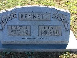 Nancy Jane <I>Rogers</I> Bennett