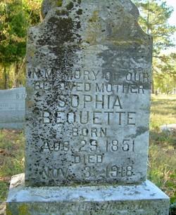 "Mary Sophia ""Sophia"" Bequette"