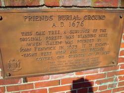 Salem Friends Burial Ground