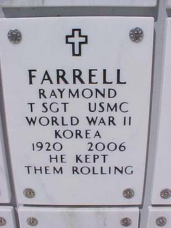 "Sgt Raymond ""Smoky"" Farrell"