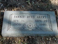 Fannie Reed Akers