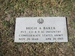 Pvt Hugh Alonzo Baker