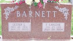 Florence Earlene <I>Wyer</I> Barnett