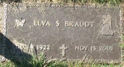 Elva S <I>Matheson</I> Braudt