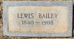 Lewis Edward Bailey