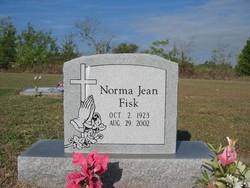 Norma Jean <I>Watson</I> Fisk