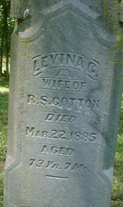 Levina G. <I>Gilliland</I> Cotton