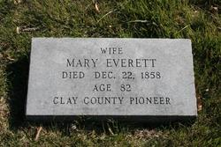 Mary Ann <I>Waltrip</I> Everett
