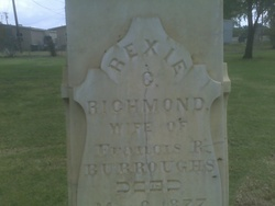 Rexie G <I>Richmond</I> Burroughs