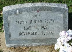 "Lloyd Hunter ""Tootie"" Selby"