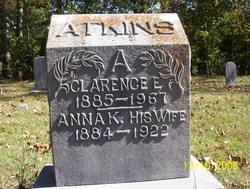 Anna Keziah <I>Hermann</I> Atkins