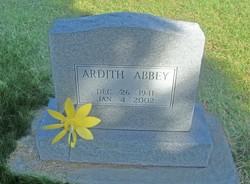 Ardith Maxine Abbey