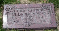 Lillian Mae Bowling
