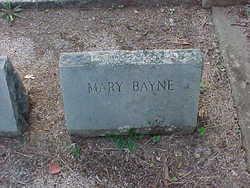 "Mary Ellen ""Mamie"" Bayne"