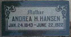 Andrea Hansine <I>Ipsen</I> Hansen
