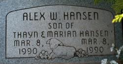 Wayne Alex Hansen