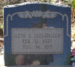 Ilene <I>Stirling</I> Seegmiller