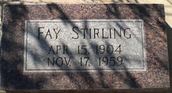 Fay Stirling