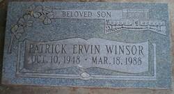 Patrick Ervin Winsor