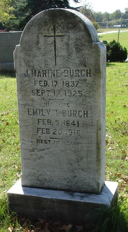 Emily Teresa <I>Boone</I> Burch