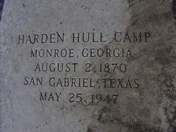 Harden Hull Camp, Sr